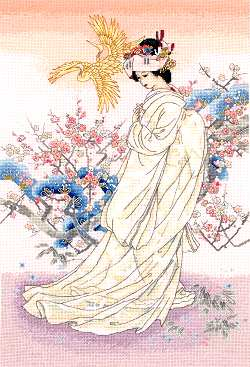 click here to view larger image of Kihaku (counted cross stitch kit)