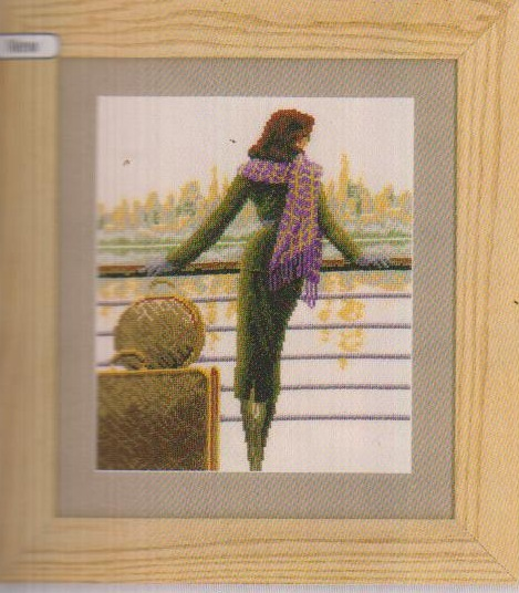 click here to view larger image of Port Of Call (counted cross stitch kit)