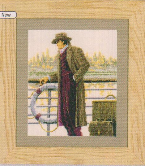 click here to view larger image of Pier 56 (counted cross stitch kit)