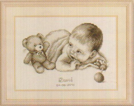 click here to view larger image of David (counted cross stitch kit)