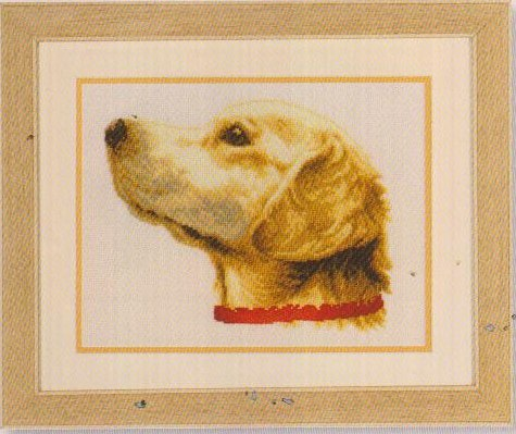 click here to view larger image of Dog (counted cross stitch kit)