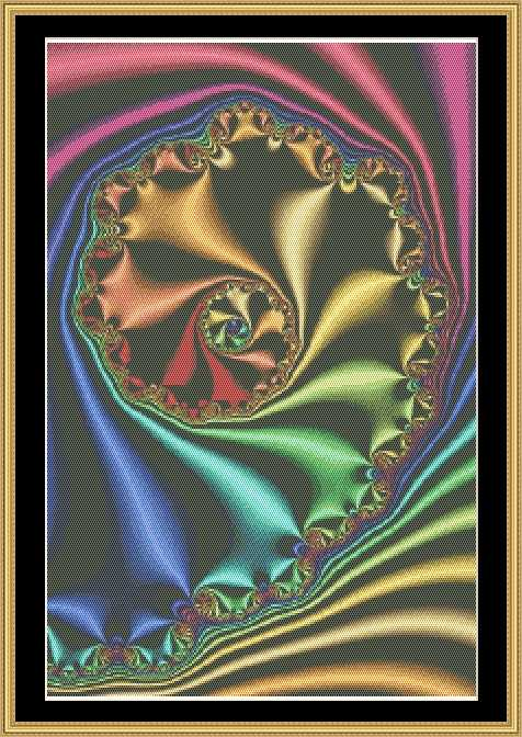 click here to view larger image of Fractal Series 036 - Limited Edition (chart)
