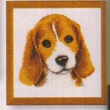 click here to view larger image of Beagle (counted cross stitch kit)