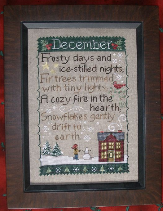 click here to view larger image of Monthly Sampler - December (chart)