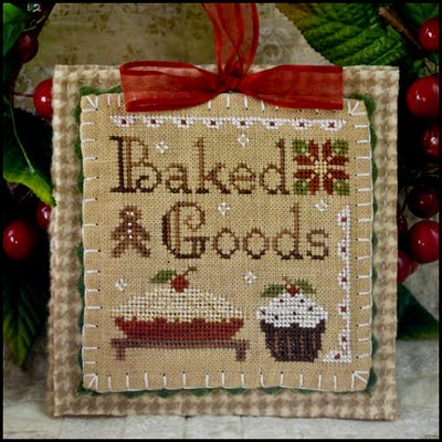 click here to view larger image of Baked Goods - 2011 Ornament (chart)