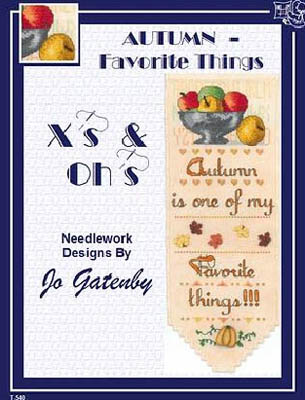 click here to view larger image of Autumn - Favorite Things (chart)