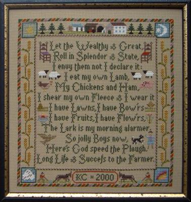 click here to view larger image of Farmer's Prayer (chart)