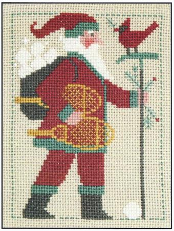 click here to view larger image of 2011 Prairie Schooler Santa (chart)