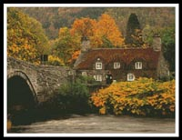 click here to view larger image of Autumn Cottage (chart)