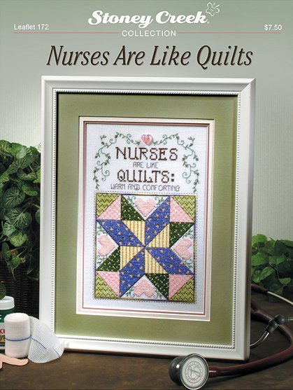 click here to view larger image of Nurses Are Like Quilts (chart)