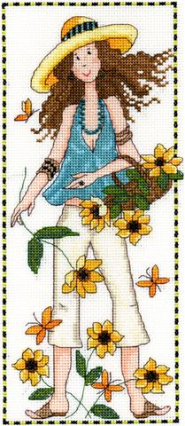 click here to view larger image of Abigail (counted cross stitch kit)