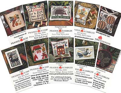 click here to view larger image of Mini Cards - Collection A (chart)