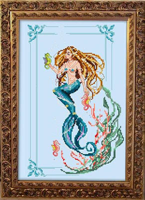 click here to view larger image of Little Mermaid (chart)