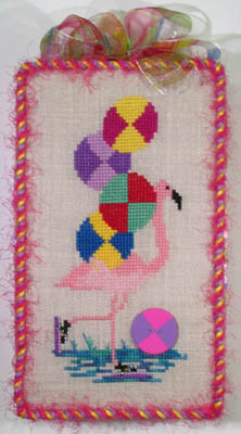 click here to view larger image of All Stacked Up - Flamingos (chart)