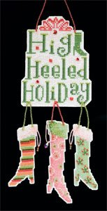 click here to view larger image of Stocking  (2011)  (counted cross stitch kit)