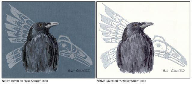click here to view larger image of Native Raven (chart)