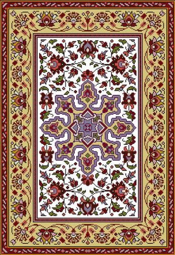 click here to view larger image of Tapis Arabesques (chart)