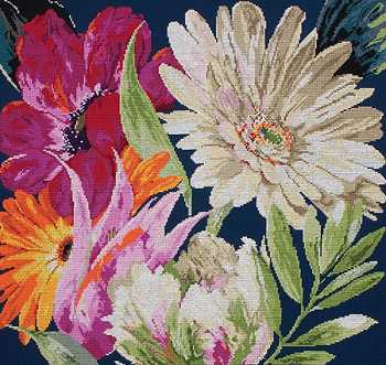 click here to view larger image of Fan Fair (counted cross stitch kit)
