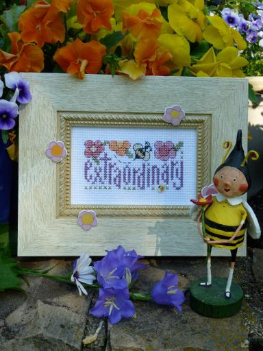 click here to view larger image of Bee Extraordinary (counted cross stitch kit)
