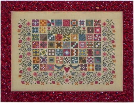 click here to view larger image of Quilted Garden (chart)