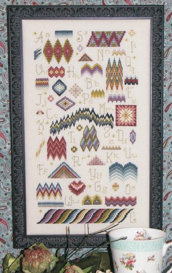 click here to view larger image of Bargello Sampler (chart)