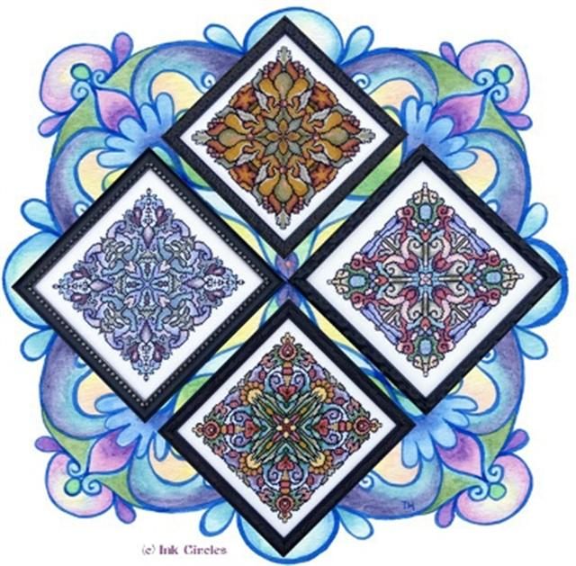 click here to view larger image of Four Seasonal Mandalas (chart)