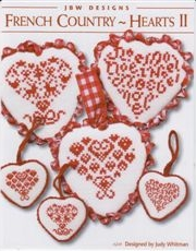 click here to view larger image of French Country Hearts II (chart)