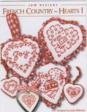 click here to view larger image of French Country Hearts I (chart)