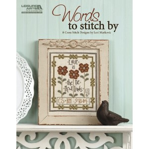 click here to view larger image of Words To Stitch By (book)