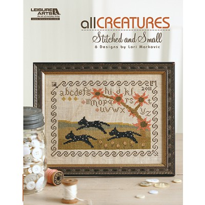 click here to view larger image of All Creatures Stitched and Small (chart)