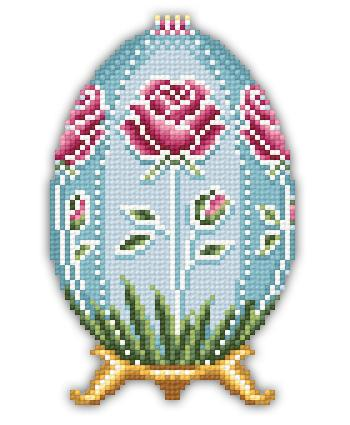 click here to view larger image of Rose Faberge Easter Egg (chart)