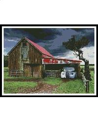 click here to view larger image of Old Barn in a Storm (chart)