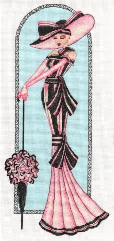 click here to view larger image of Elegant Ladies - My Fair Lady (counted cross stitch kit)