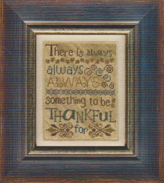 click here to view larger image of Always Thankful (chart)