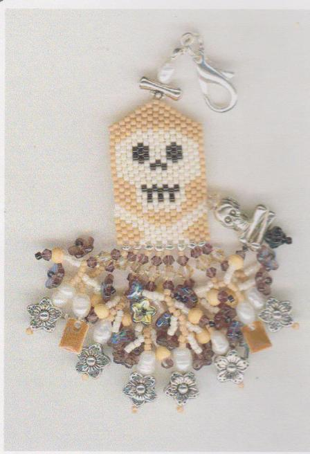 click here to view larger image of Coffin Bones (Scissor Fob) (bead kit)