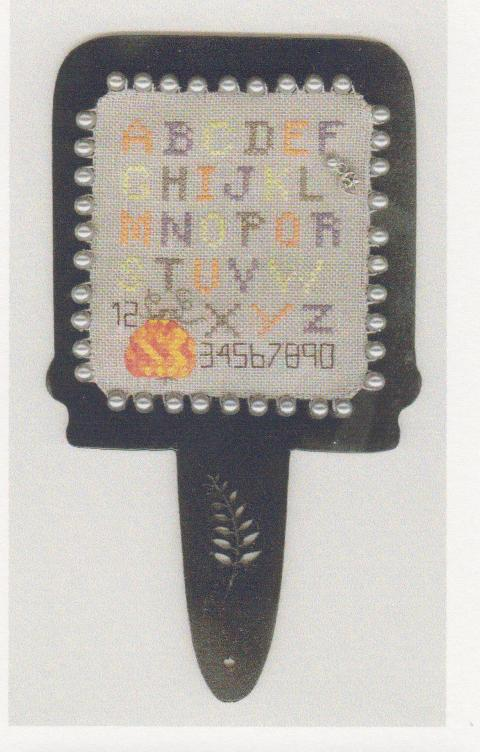 click here to view larger image of Pumpkin and Pearls (counted cross stitch kit)