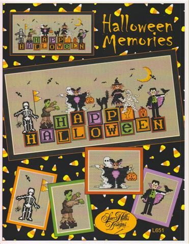 click here to view larger image of Halloween Memories (chart)