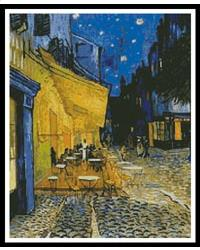 click here to view larger image of Cafe Terrace  (Vincent Van Gogh) (chart)