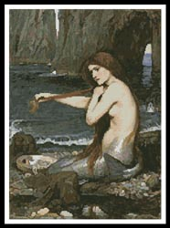 click here to view larger image of A Mermaid  (John William Waterhouse) (chart)