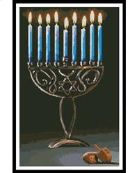 click here to view larger image of Hanukkah (chart)