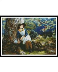 click here to view larger image of Asleep in the Woods  (Arthur Hughes) (chart)
