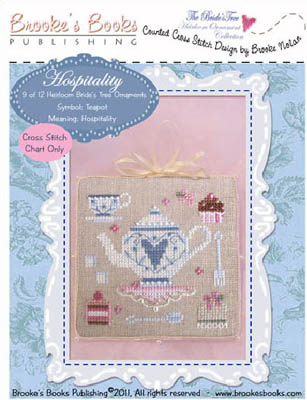 click here to view larger image of Bride's Tree Ornament 9 - Hospitality (chart)
