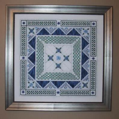 click here to view larger image of Bachelor Buttons Tapestry Garden (chart)