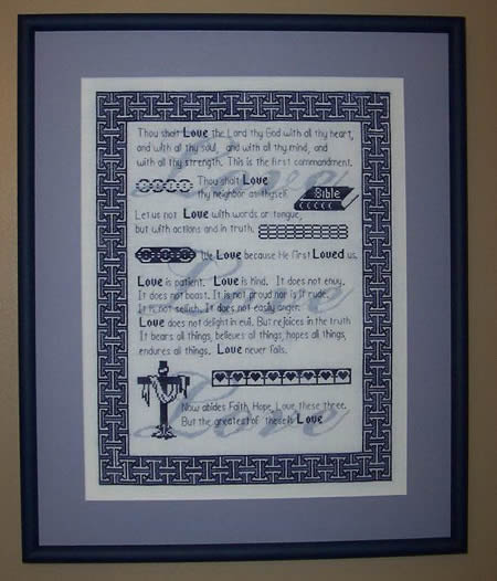click here to view larger image of Love Is (chart)