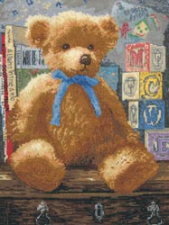 click here to view larger image of Trusted Friend (counted cross stitch kit)