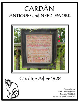 click here to view larger image of Caroline Adler 1828 (chart)