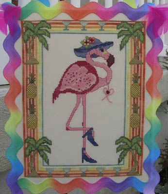 click here to view larger image of Florence The Flamingo Floozy (chart)