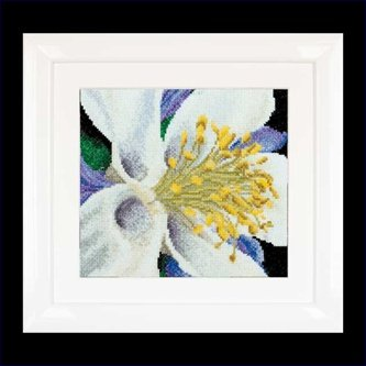 click here to view larger image of Columbine (counted cross stitch kit)