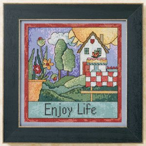 click here to view larger image of Enjoy Life (2011) (counted cross stitch kit)