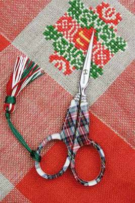 click here to view larger image of Tartan Scissors  (Scissors Only) (accessory)